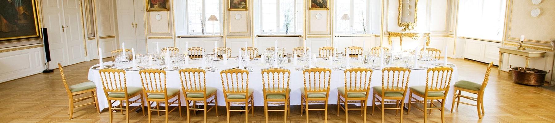 Konference og messe lokaler på Holckenhavn Slot
