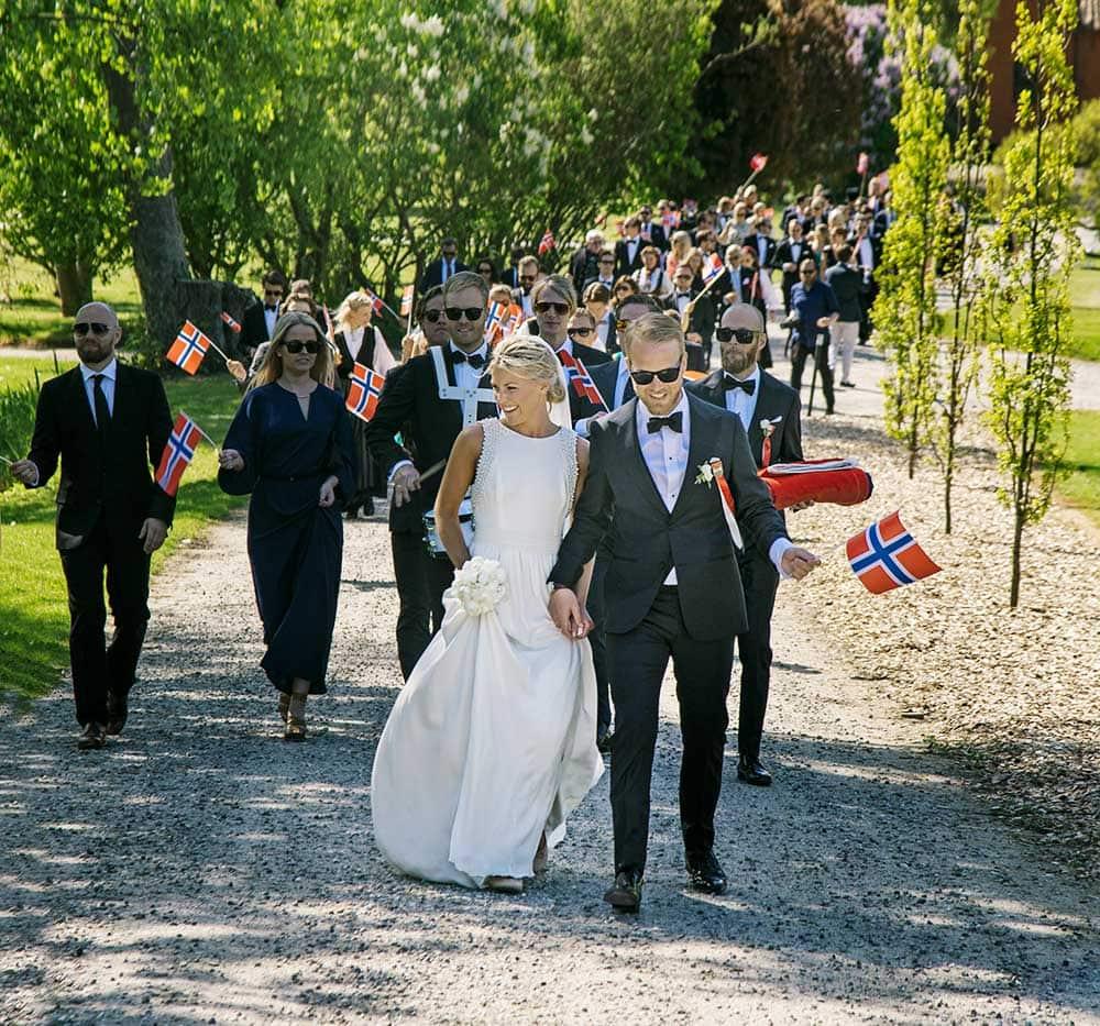 Bryllup på fyn - Etageoversigt over Holckenhavn