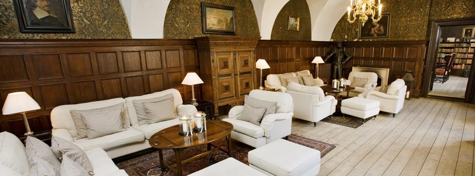 Konferencelokaler med lounge