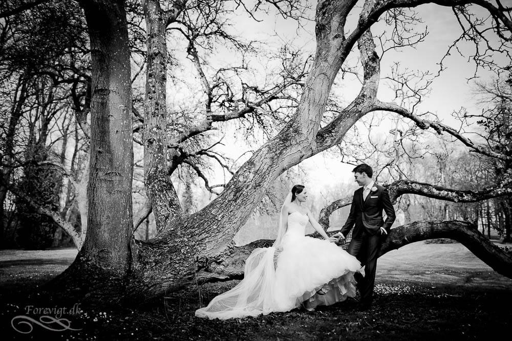 Bryllupsfotograf på Holckenhavn Slot