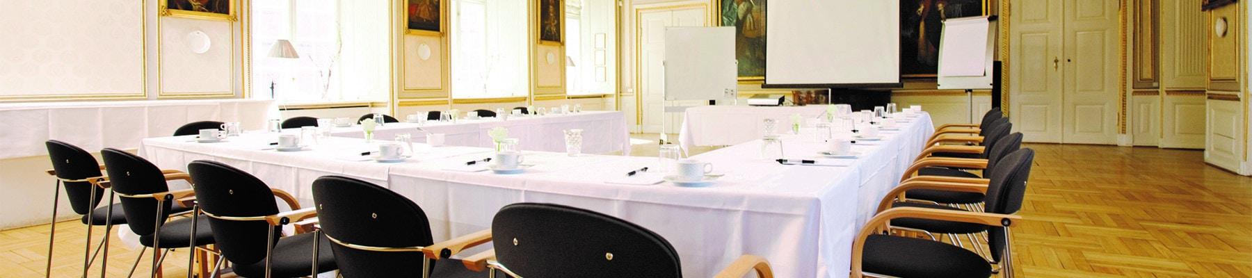 Konferencelokaler og konferencesale