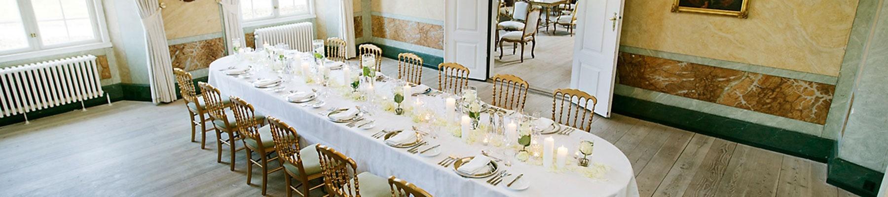Lyse konferencelokaler på Fyn Holckenhavn Slot