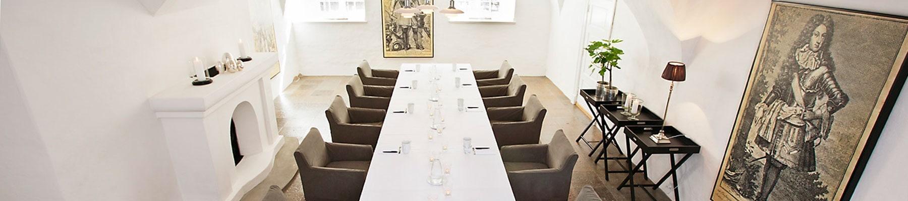 Konferencelokaler på Holckenhavn Slot