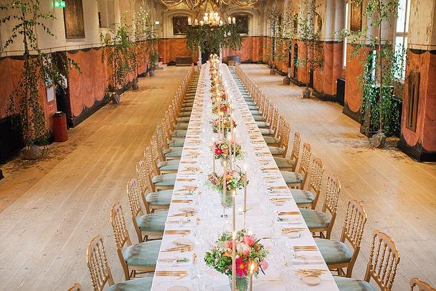 Langbord til bryllup