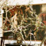 Stort malerie fra Holckenhavn Slot