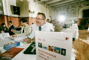Konferencegæst i Riddersalen på Holckenhavn Slot