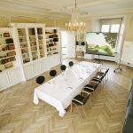 Mødelokale på Holckenhavn Slot Fyn