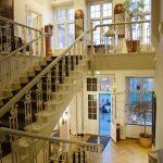 Halltrappen på Holckenhavn Slot