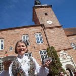 Norsk bryllupsgæst til bryllupsreception