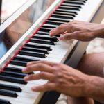 Piano til bryllupsreception