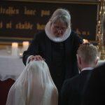 Vielse brudepar Holckenhavn Slotskirke