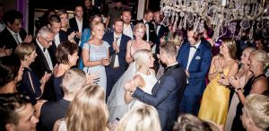 Brudevals på Holckenhavn Slot