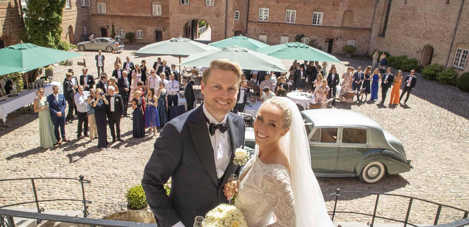 Hold dit bryllup på Holckenhavn Slot
