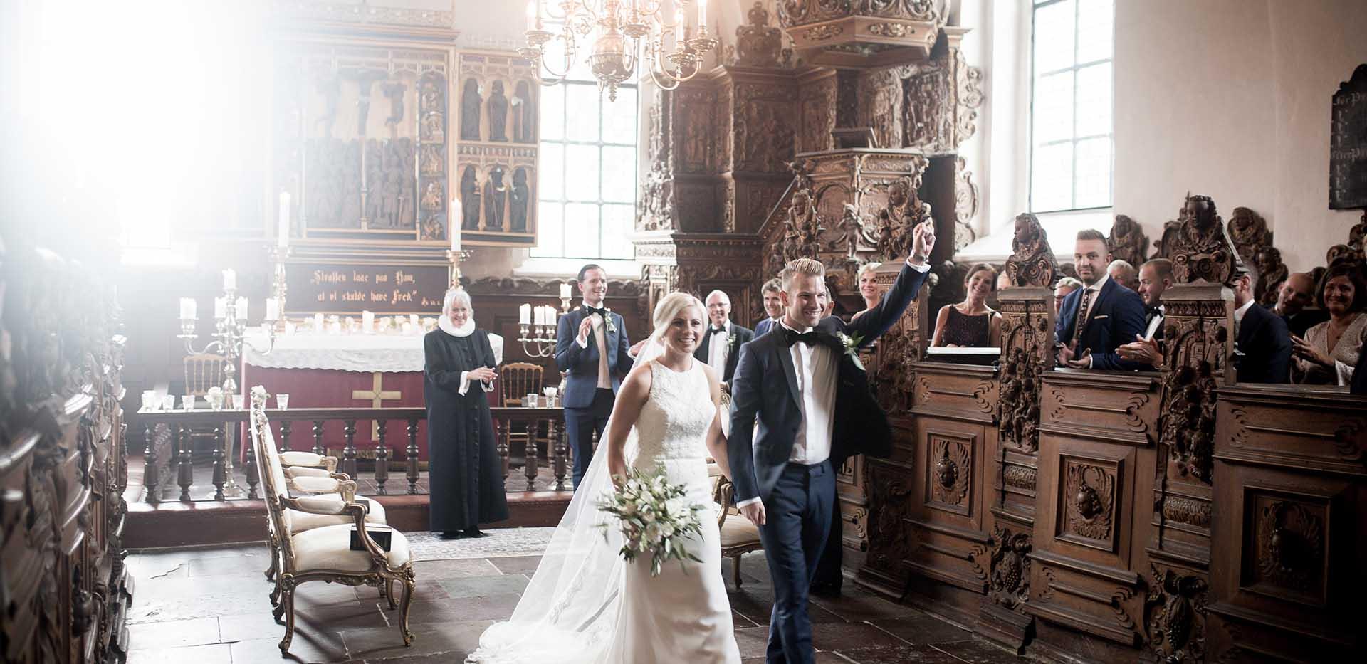 Vielse i Slotskirke - Holckenhavn Slot