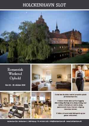 Weekendophold på Holckenhavn Slot