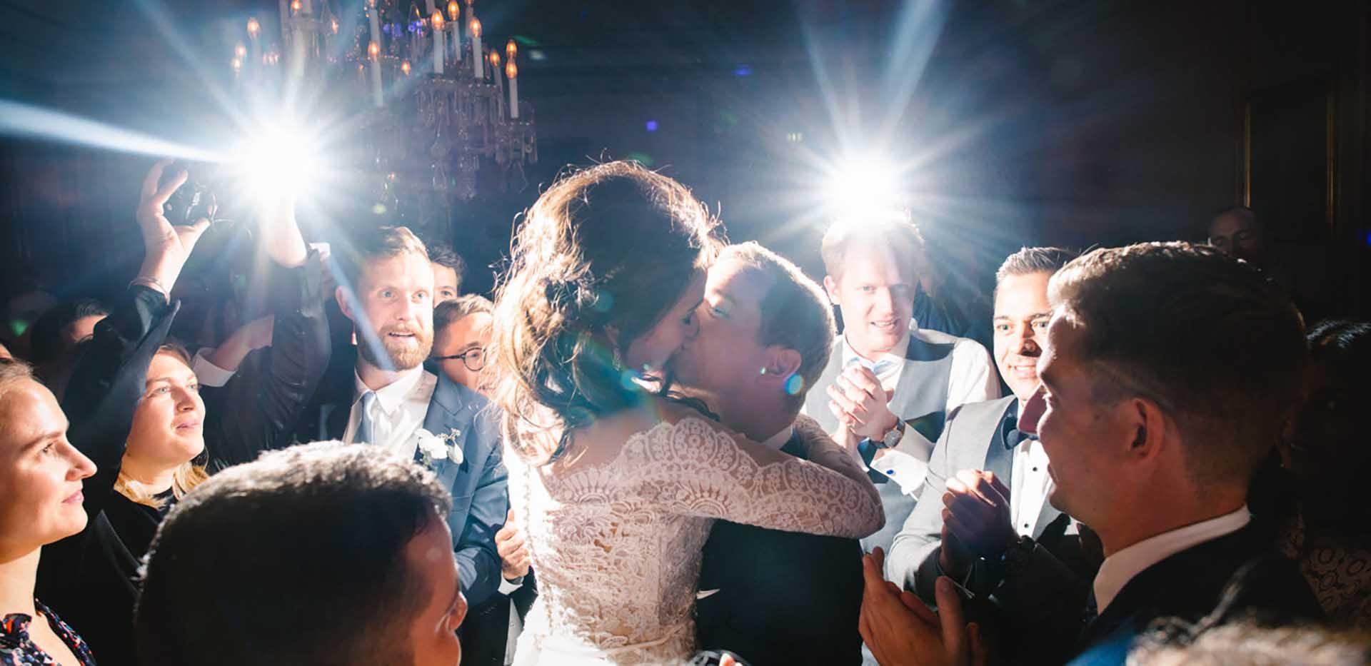 Brudevals i Dansesalen på Holckenhavn Slot